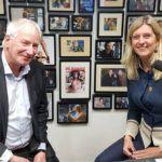 Han Dieperink en Jacqueline Zuidweg bij Vallen, opstaan en weer doorgaan op New Business Radio