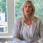 Jacqueline Zuidweg presenteert haar serie Vallen opstaan en weer doorgaan op het kantoor van Zuidweg & Partners in Hilversum. Deze keer met het onderwerp: Business Angels.