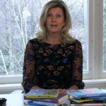 Jacqueline Zuidweg presenteert haar serie Vallen opstaan en weer doorgaan op het kantoor van Zuidweg & Partners in Hilversum. Deze keer met het onderwerp: balans werk en privé.