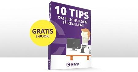 e-book 10 tips om je schulden te regelen