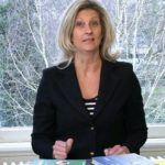 Jacqueline Zuidweg presenteert haar serie Vallen opstaan en weer doorgaan op het kantoor van Zuidweg & Partners in Hilversum. Deze keer met het onderwerp: de franchisenemer.